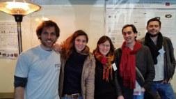 2015 @14e Forum des Sciences Cognitives Ignacio, Karin, Laetitia, Baptiste, Benoît