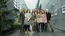 2014 Baptiste, Anja, Anne, Leila, Benoît, Karin, Nicolas, Laetitia,Tadeusz