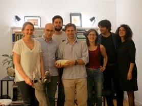 2016 VvW & Corti, Tadeusz, Benoît, Ignacio & empanadas, Laetitia, Denis, Stefania