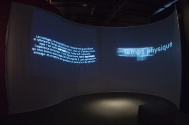l'exposition «Courir après le temps»